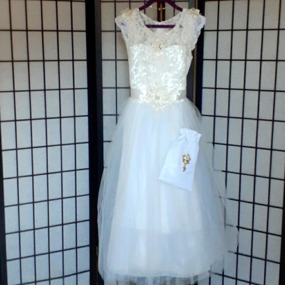 Girl Dress Communion, Confirmation Free kit side 8
